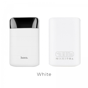 Išorinė baterija Power Bank Hoco B29 10000mAh balta
