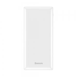Išorinė baterija Power Bank Baseus Mini JA Fast charge 3A 30000mAh balta PPJAN-C02