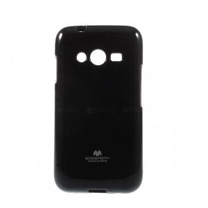 Silikoninis Samsung G313 Trend 2 Mercury Jelly Case juodas dėklas