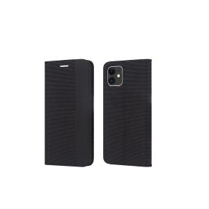 Dėklas Smart Senso Samsung S21 Plus juodas