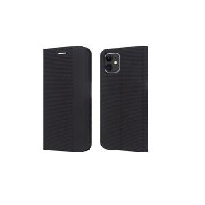 Dėklas Smart Senso Samsung S21 Ultra juodas