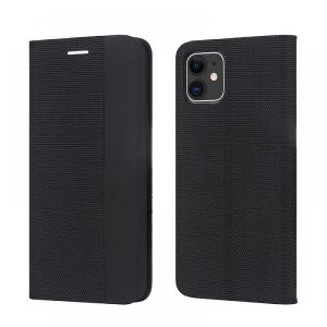 Dėklas Smart Senso Samsung A52 juodas